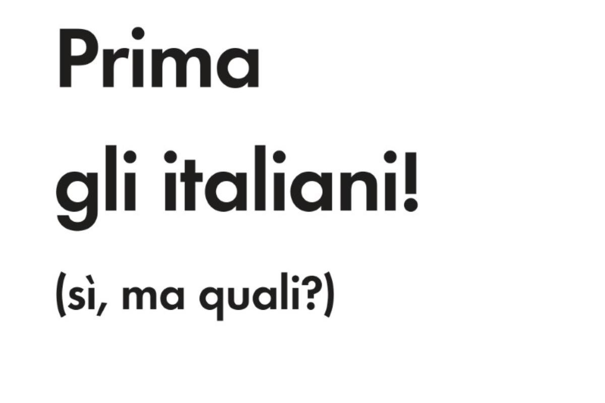 I libri di NRW: Prima gli italiani! (sì, ma quali?)